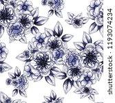 abstract elegance seamless... | Shutterstock . vector #1193074234