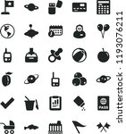 solid black flat icon set wind... | Shutterstock .eps vector #1193076211