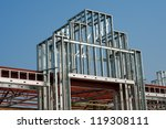 closeup of a store building or... | Shutterstock . vector #119308111