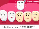 smiling and upset animated... | Shutterstock .eps vector #1193101201