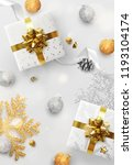 christmas background. holiday... | Shutterstock .eps vector #1193104174