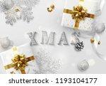 xmas design. christmas... | Shutterstock .eps vector #1193104177