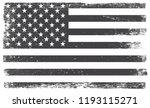 old american flag.vector grunge ... | Shutterstock .eps vector #1193115271