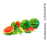 fresh  nutritious and tasty... | Shutterstock .eps vector #1193141974