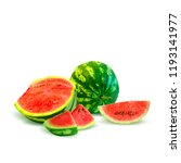 fresh  nutritious and tasty... | Shutterstock .eps vector #1193141977