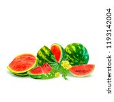 fresh  nutritious and tasty... | Shutterstock .eps vector #1193142004