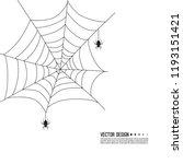 vector illustration of creepy... | Shutterstock .eps vector #1193151421
