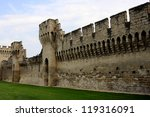 The Walls Around Medieval City...