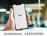riga  september 2018   recently ... | Shutterstock . vector #1193164564