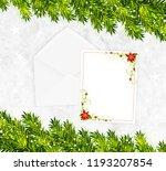 christmas background vector   Shutterstock .eps vector #1193207854