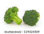 fresh broccoli isolated on... | Shutterstock . vector #119324509