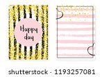 bridal shower card with dots... | Shutterstock .eps vector #1193257081