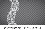 blizzard snowflakes on... | Shutterstock .eps vector #1193257531