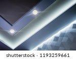 multi level modern ceilings in... | Shutterstock . vector #1193259661