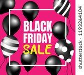 black friday sale. | Shutterstock .eps vector #1193264104