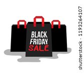 black friday sale. | Shutterstock .eps vector #1193264107