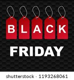 black friday sale background... | Shutterstock . vector #1193268061