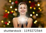 magic and holidays concept  ... | Shutterstock . vector #1193272564