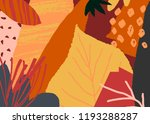 autumn design with abstract... | Shutterstock .eps vector #1193288287
