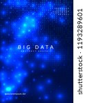 deep learning background.... | Shutterstock .eps vector #1193289601