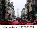 brussels  belgium. 2nd oct.... | Shutterstock . vector #1193321674