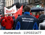 brussels  belgium. 2nd oct.... | Shutterstock . vector #1193321677