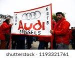 brussels  belgium. 2nd oct.... | Shutterstock . vector #1193321761