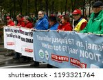 brussels  belgium. 2nd oct.... | Shutterstock . vector #1193321764