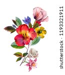flowers are full of romance the ... | Shutterstock . vector #1193321911