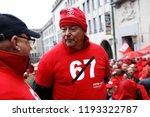 brussels  belgium. 2nd oct.... | Shutterstock . vector #1193322787