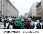 brussels  belgium. 2nd oct.... | Shutterstock . vector #1193322841