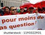 brussels  belgium. 2nd oct.... | Shutterstock . vector #1193322931
