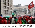 brussels  belgium. 2nd oct.... | Shutterstock . vector #1193322937