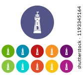 coast tower icon. simple...   Shutterstock .eps vector #1193345164
