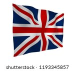 waving flag of the great... | Shutterstock . vector #1193345857