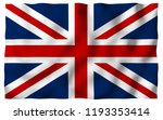 waving flag of the great... | Shutterstock . vector #1193353414