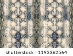 Stock photo snake skin background reptile seamless texture animal print 1193362564