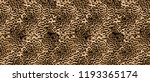 Stock photo leopard pattern repeat 1193365174