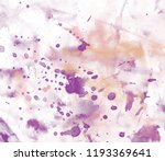 abstract watercolor on paper.... | Shutterstock . vector #1193369641