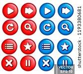 button. game. a cartoon....