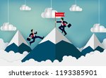 businessman competition...   Shutterstock .eps vector #1193385901