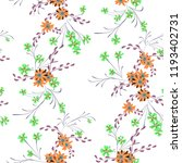 small flowers. seamless pattern ... | Shutterstock .eps vector #1193402731