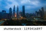 kuala lumpur  malaysia  ...   Shutterstock . vector #1193416897