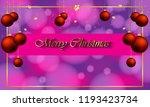 2019 merry christmas background ...   Shutterstock .eps vector #1193423734