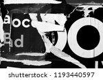 old grunge ripped torn vintage... | Shutterstock . vector #1193440597