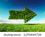 eco friendly development... | Shutterstock . vector #1193444734