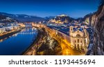 panoramic view of historic city ...   Shutterstock . vector #1193445694