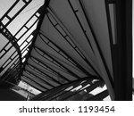 pedestrian bridge | Shutterstock . vector #1193454