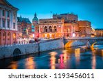 beautiful view of stockholm... | Shutterstock . vector #1193456011
