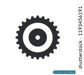 gear icon vector template | Shutterstock .eps vector #1193456191
